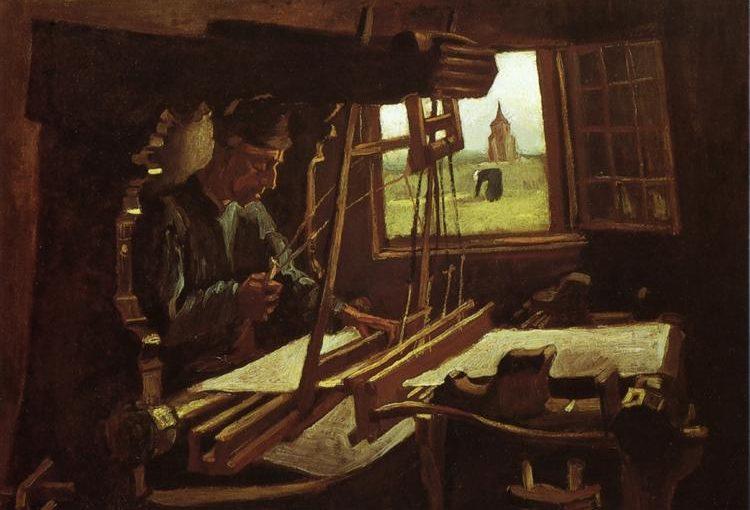 van Gogh: Veveren ved et åpent vindu (1884)
