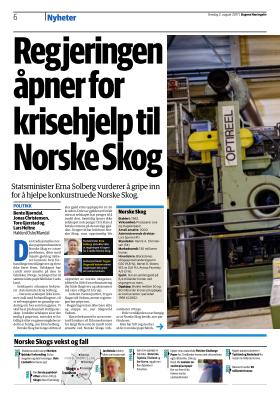 norske skog nyheter