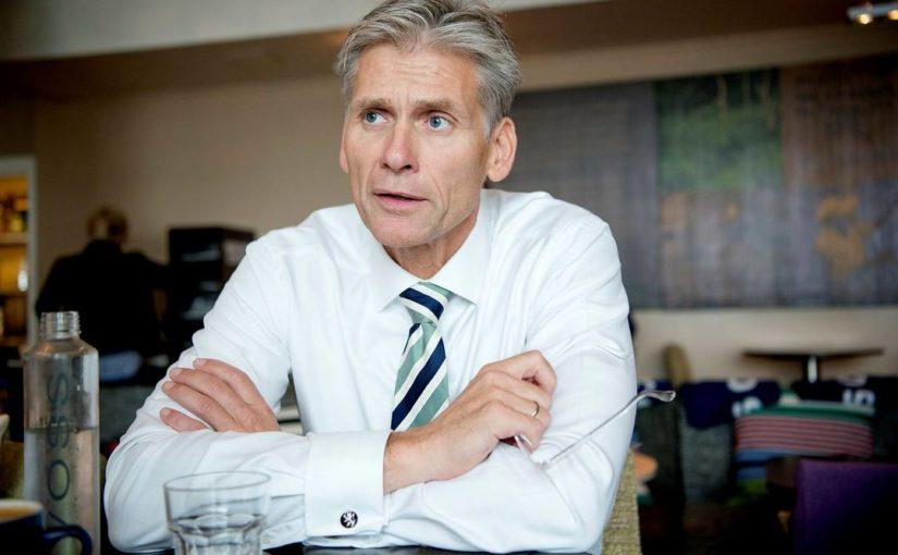 Tidligere Danske Bank-toppsjef Thomas Borgen sikta av dansk politi