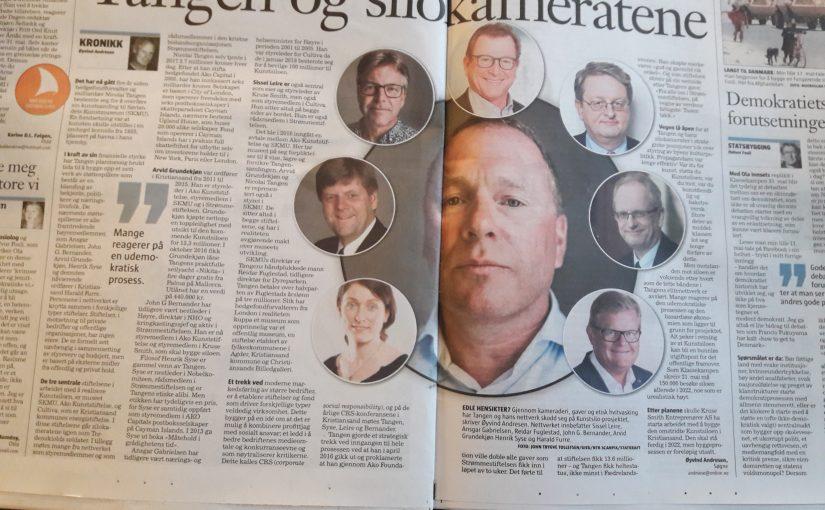 Finansspekulant Nicolai Tangen overtar ledelsen av Oljefondet